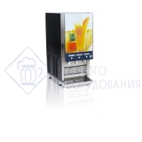 Диспенсер соковый FRUTTAMIX S POSTMIX STD на 3 продукта. Порционный конт. Bag-in-box внутри аппарата